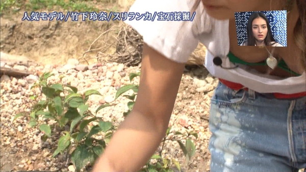 【放送事故画像】テレビでオッパイばっかり映すから、勃起してたまらん! 03