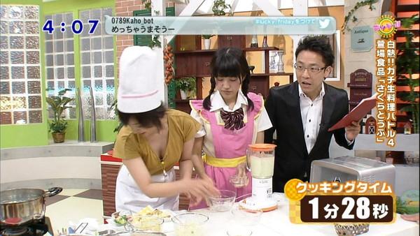 【放送事故画像】テレビでオッパイばっかり映すから、勃起してたまらん! 05