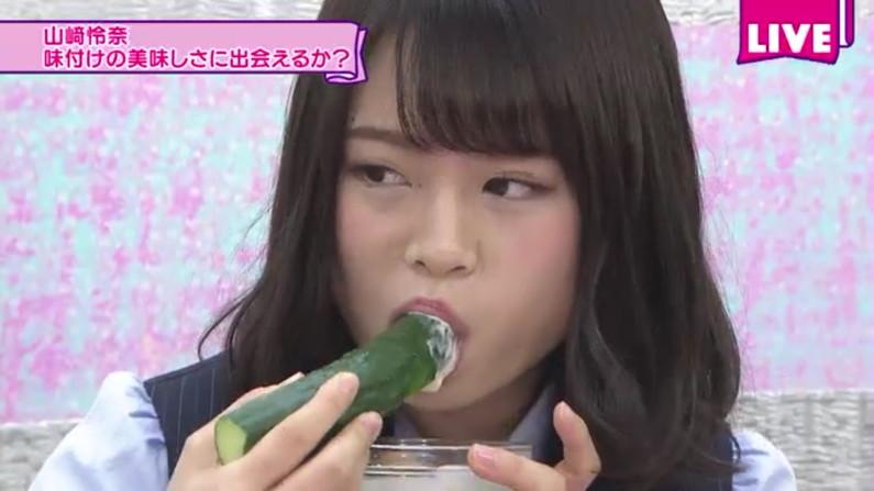 【擬似フェラ画像】食レポやってる女性タレントの口元と表情がエロくておもわず口マンコ犯したくなるww 06