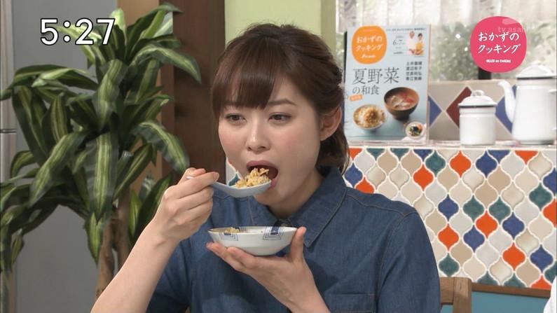 【擬似フェラ画像】完全にエロ目線で見てしまう女子アナ達の食レポシーンwww 18