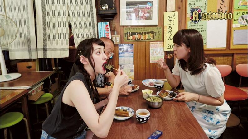 【擬似フェラ画像】完全にエロ目線で見てしまう女子アナ達の食レポシーンwww 23