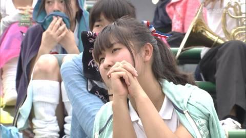 【甲子園エロ画像】この時期甲子園のスタンドはJKのパンツや透けブラが見放題になるww 09
