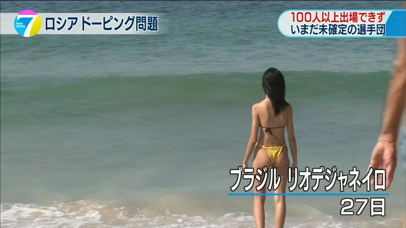 【お尻キャプ画像】テレビでプリップリのお尻が映ると思わず股間がピクつくんだがww 05
