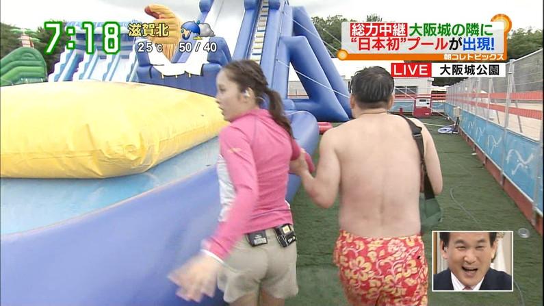 【お尻キャプ画像】テレビでプリップリのお尻が映ると思わず股間がピクつくんだがww 19
