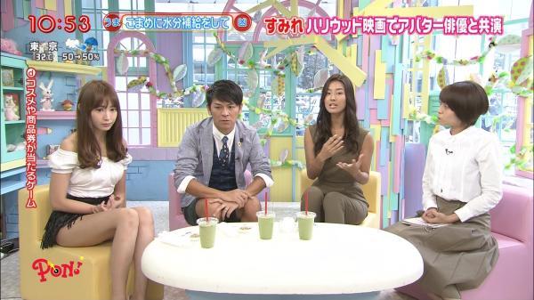 【放送事故画像】テレビでパンツ見せてる女達がこちらですww 05