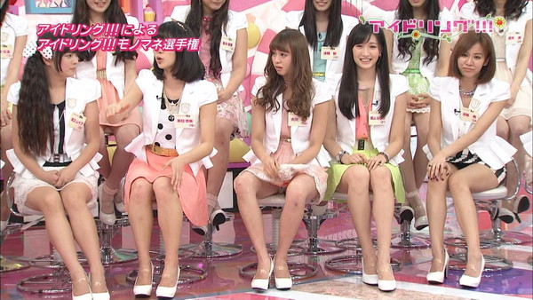 【放送事故画像】テレビでパンツ見せてる女達がこちらですww 17