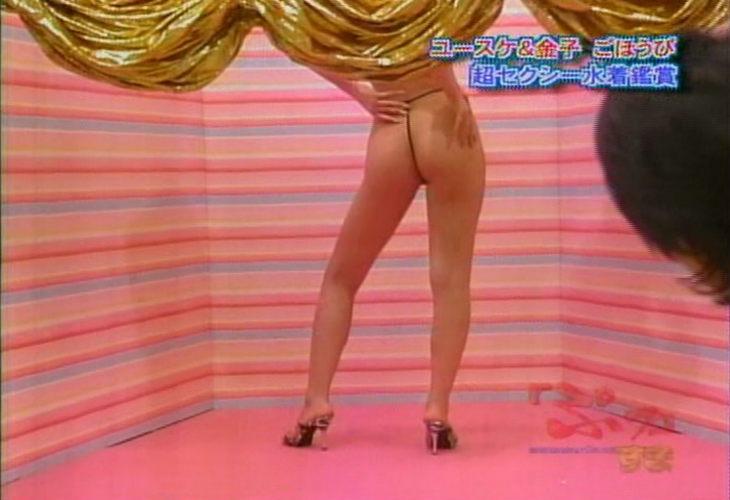 【お尻キャプ画像】水後からはみ出すお尻の肉やTバックでお尻丸出しの美女がテレビい映りまくりww 21