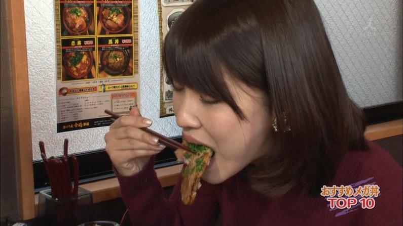 【擬似フェラ画像】エロすぎる顔で食レポする女子アナ達のこの表情を見てやってくれwww 11