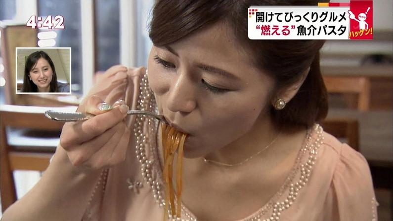【擬似フェラ画像】エロすぎる顔で食レポする女子アナ達のこの表情を見てやってくれwww 18