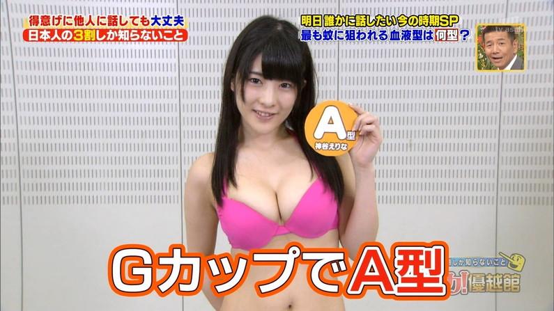 【水着キャプ画像】テレビに映る巨乳のビキニ美女達がエロいオッパイ強調しまくりww 15