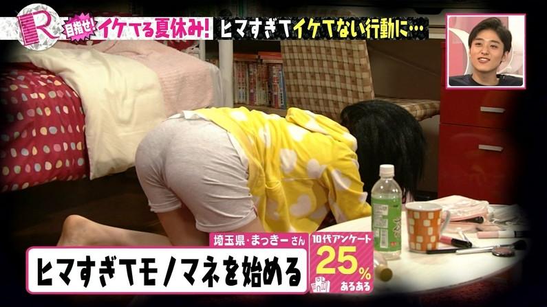 【お尻キャプ画像】女子アナ達のパン線浮きまくりなお尻がむっちりエロすぎるww