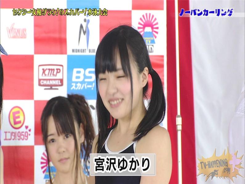 【お宝エロ画像】スカパー水泳大会でアナルが映っちゃってるぞwww(ノーパンカーリング編) 22