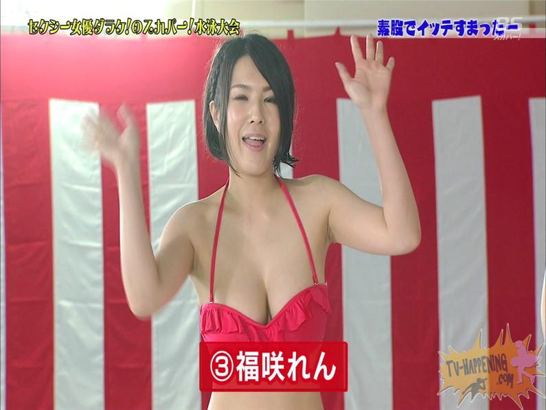 【お宝エロ画像】スカパー女優だらけの水泳大会でクリトリス擦られた女優がアヘ顔なっちゃってるww(素股でイッテすまったー編) 25