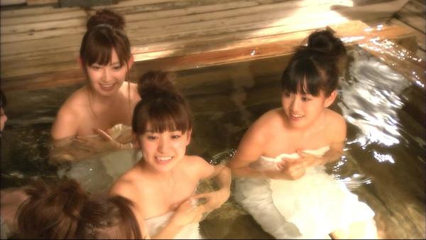 【お宝放送画像】テレビに映ったちょっとエロい入浴シーン!! 12