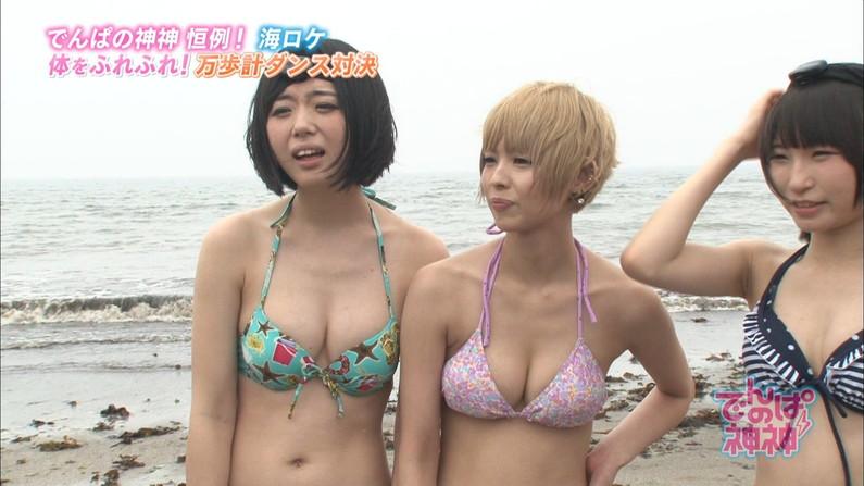 【水着キャプ画像】今年も映しちゃいますよ~w素人ギャル達のエッチな水着姿をww 14
