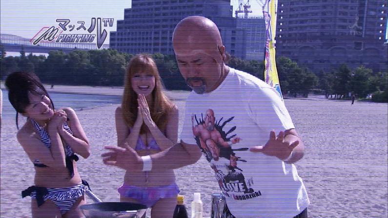 【水着キャプ画像】この時期テレビ局は水着美女のオッパイで視聴率上げまくるww 19