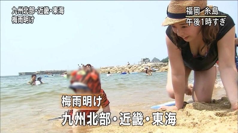 【水着キャプ画像】この時期テレビ局は水着美女のオッパイで視聴率上げまくるww 23