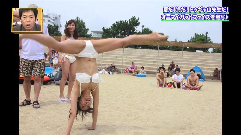 【開脚放送事故画像】アイドル達がお股広げたその瞬間、股間をドアップで映すとこうなったww 07