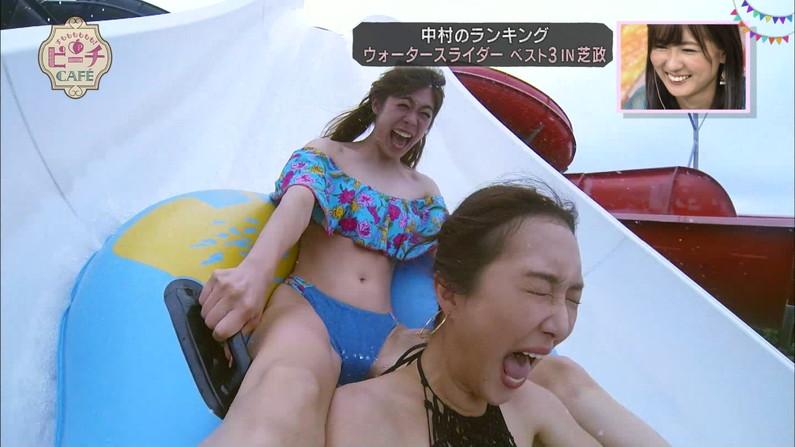 【開脚放送事故画像】アイドル達がお股広げたその瞬間、股間をドアップで映すとこうなったww 18