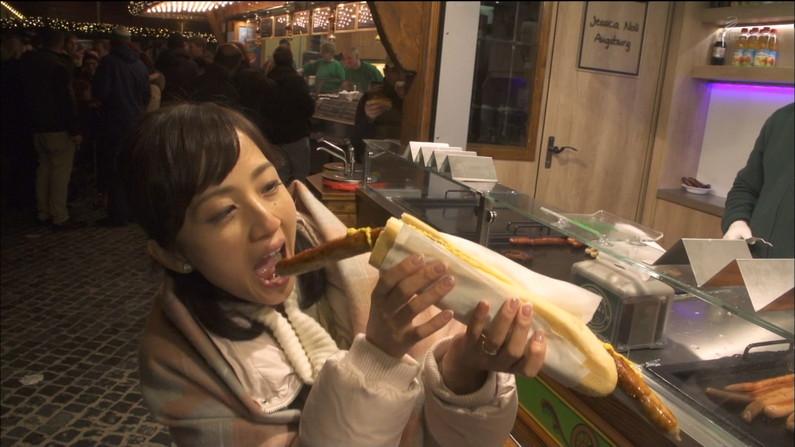 【擬似フェラキャプ画像】女子アナやアイドルって食レポの時にわざとこんなエロい顔してるのか?ww 02