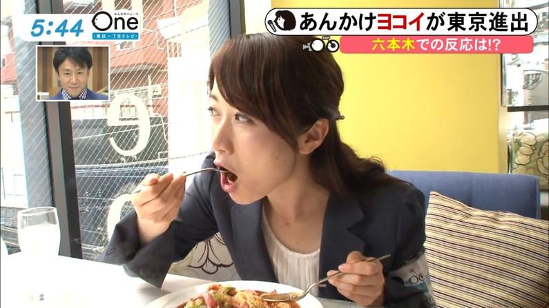 【擬似フェラキャプ画像】女子アナやアイドルって食レポの時にわざとこんなエロい顔してるのか?ww 12