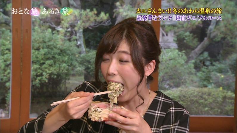 【擬似フェラキャプ画像】女子アナやアイドルって食レポの時にわざとこんなエロい顔してるのか?ww 21