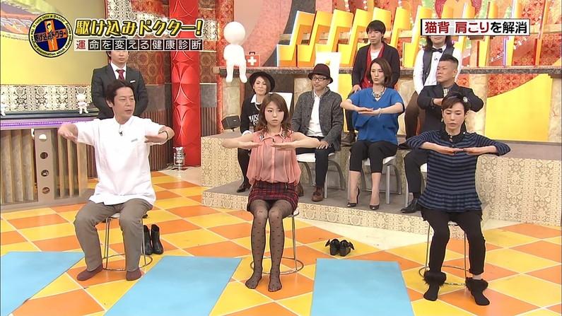 【パンチラキャプ画像】偶然なのか必然なのかテレビに映っちゃったタレント達のパンチラシーンww 02