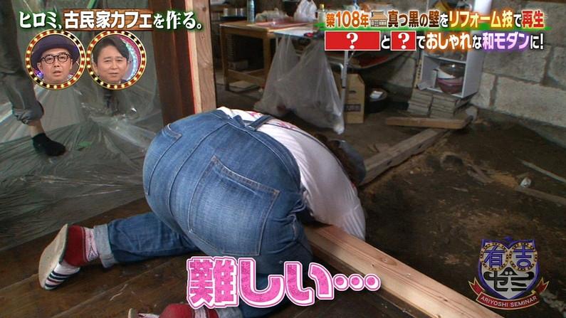 【お尻キャプ画像】お尻にフィットし過ぎたズボンがヒップラインを際立たせるwパン線まで浮いちゃってる女子アナまでw 04