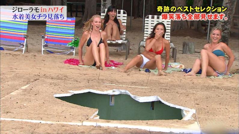 【水着キャプ画像】今年の夏も露出度高めの水着美女達がテレビに映ってオッパイ強調しまくりんごww 02
