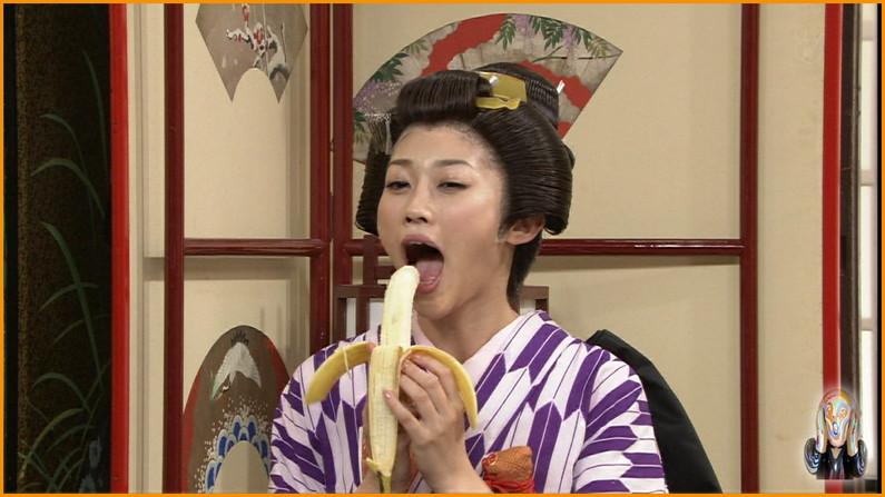 【擬似フェラ画像】美味しさを伝えてくれてるんだけど、どぉしてもエロい顔に見えてしまう女子アナ達の食レポシーンww 06