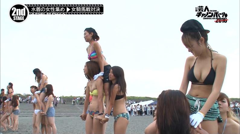 【水着キャプ画像】まだまだ夏は終わらない!海に水着美女達がいる限り映しまくるテレビ業界ww 05
