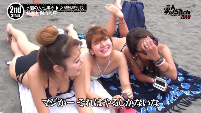 【水着キャプ画像】まだまだ夏は終わらない!海に水着美女達がいる限り映しまくるテレビ業界ww 11