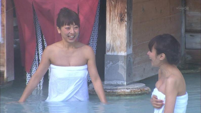【温泉キャプ画像】旅番組などで映る、美女達の入浴シーンが激エロwその裸体が安易に想像できちゃうw 10