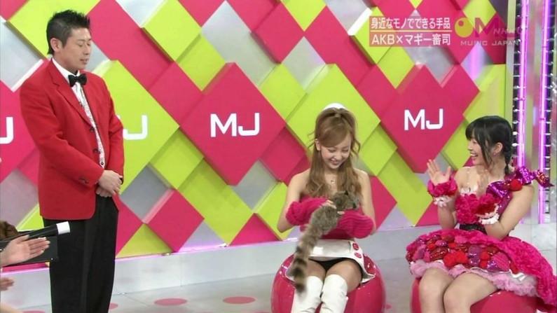 【パンチラ放送事故画像】女子アナやアイドルの見えてはいけない領域が見えた瞬間!!