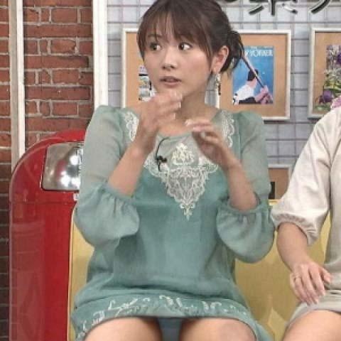 【パンチラ放送事故画像】女子アナやアイドルの見えてはいけない領域が見えた瞬間!! 11