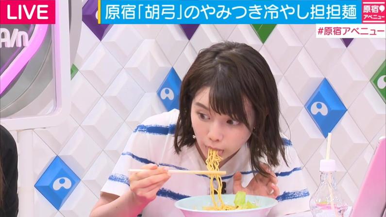 【擬似フェラ画像】女子アナやアイドルが食レポする時ってなんであんなにエロい顔になるんだ?ww 05