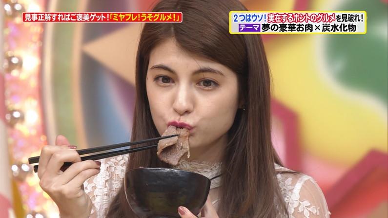 【擬似フェラ画像】女子アナやアイドルが食レポする時ってなんであんなにエロい顔になるんだ?ww 19