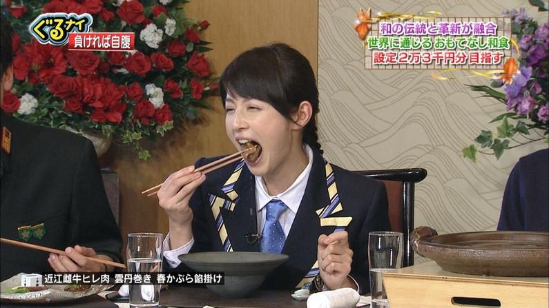 【擬似フェラキャプ画像】女子アナやアイドルのフェラ顔が映される食レポってじわじわ来るなwww 15
