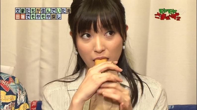 【擬似フェラキャプ画像】女子アナやアイドルのフェラ顔が映される食レポってじわじわ来るなwww 23