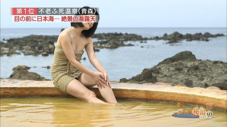 【温泉キャプ画像】タレントの入浴シーンが見れる貴重な温泉レポ!エロい裸体画安易に想像できちゃうw 06