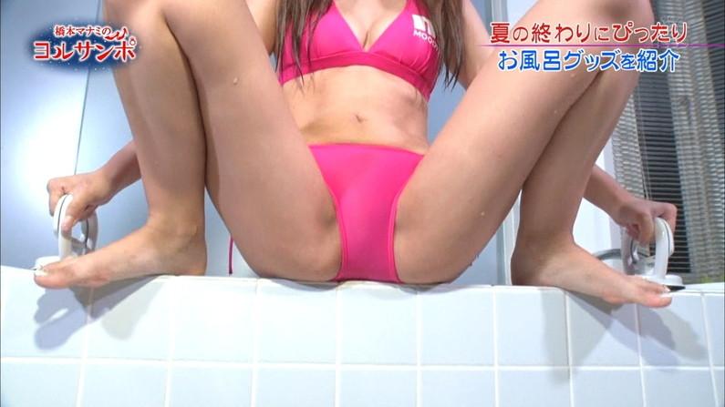 【開脚キャプ画像】テレビなのに美女がお股クパーして挿入待ちポーズwwえ!?いいんですか?w