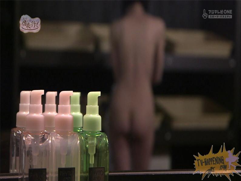【お宝エロ画像】人気温泉番組もっと温泉に行こうで美女の生尻が見放題ww際どいシーンがタマランw 34
