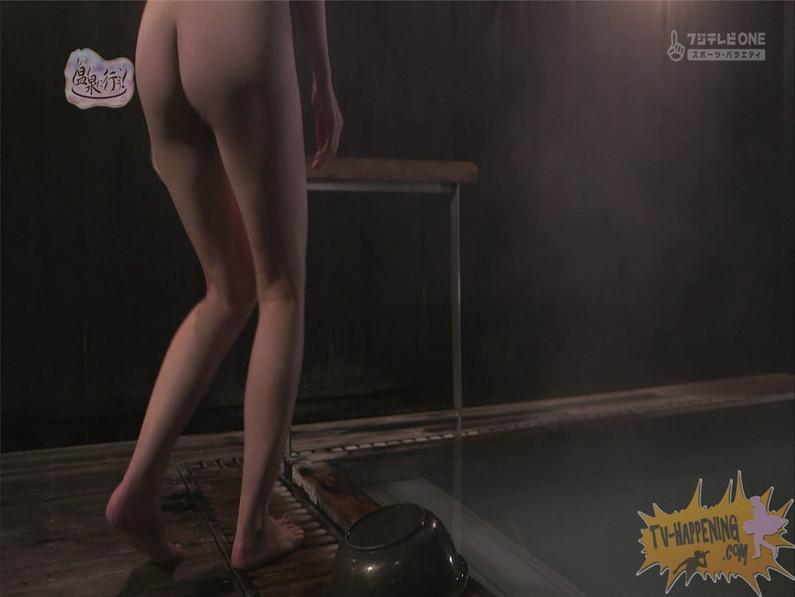 【お宝エロ画像】人気温泉番組もっと温泉に行こうで美女の生尻が見放題ww際どいシーンがタマランw 35