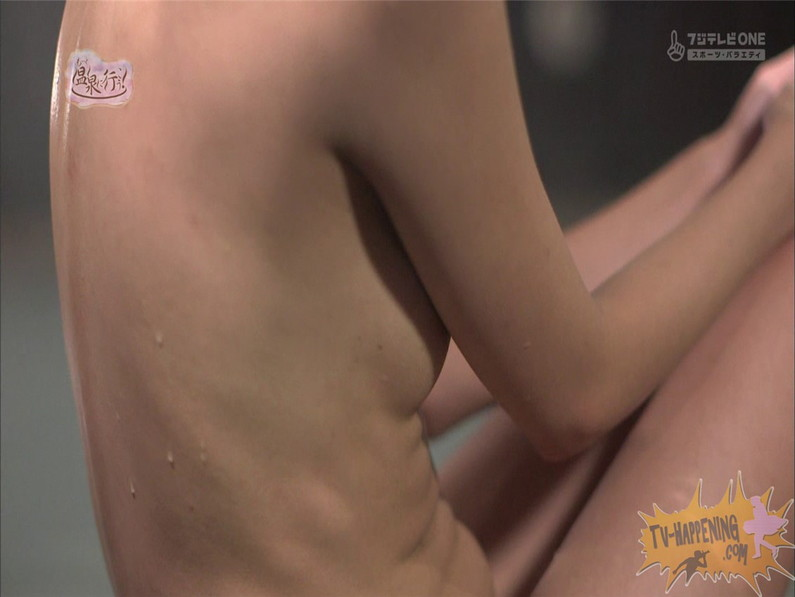 【お宝エロ画像】人気温泉番組もっと温泉に行こうで美女の生尻が見放題ww際どいシーンがタマランw 39