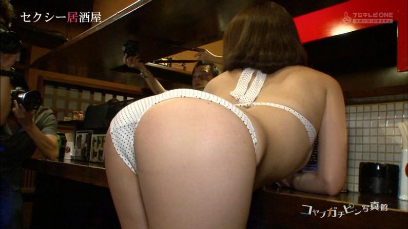 【お尻キャプ画像】テレビで水着からハミ尻しまくりの美女達がエロすぎww 07