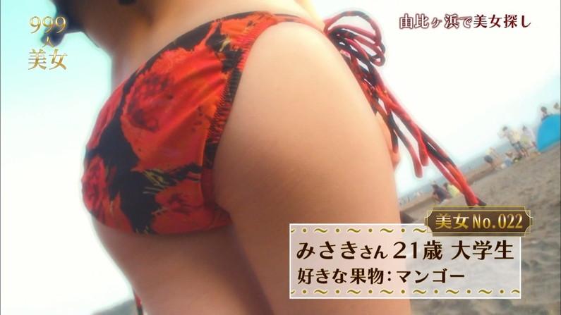 【お尻キャプ画像】テレビで水着からハミ尻しまくりの美女達がエロすぎww 18
