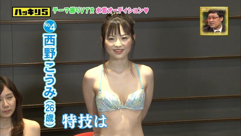 【水着キャプ画像】グラドルでも素人でもとりあえず巨乳美女の水着姿は視聴率がいいらしいw 23
