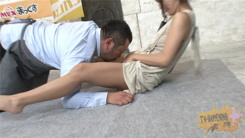 【お宝エロ画像】ケンコバのバコバコTVで美女達が透け透けの下着来て登場してたぞww 38