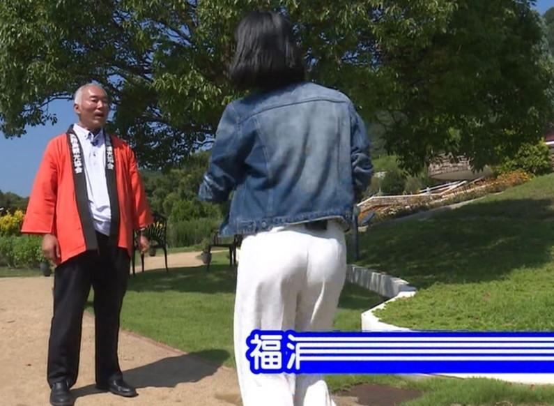【お尻キャプ画像】ズボン履いててもピッチリし過ぎてエロいお尻の形が丸わかりなタレント達ww 10