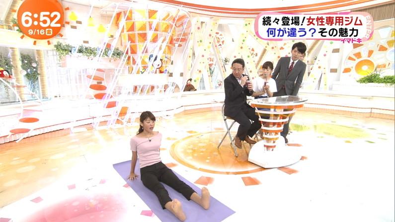 【足裏キャプ画像】この女性タレントの足の裏だったら舐めてもいい??ww 16